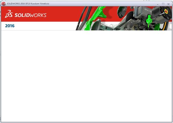 solidworks-kurulum-beyaz-ekran