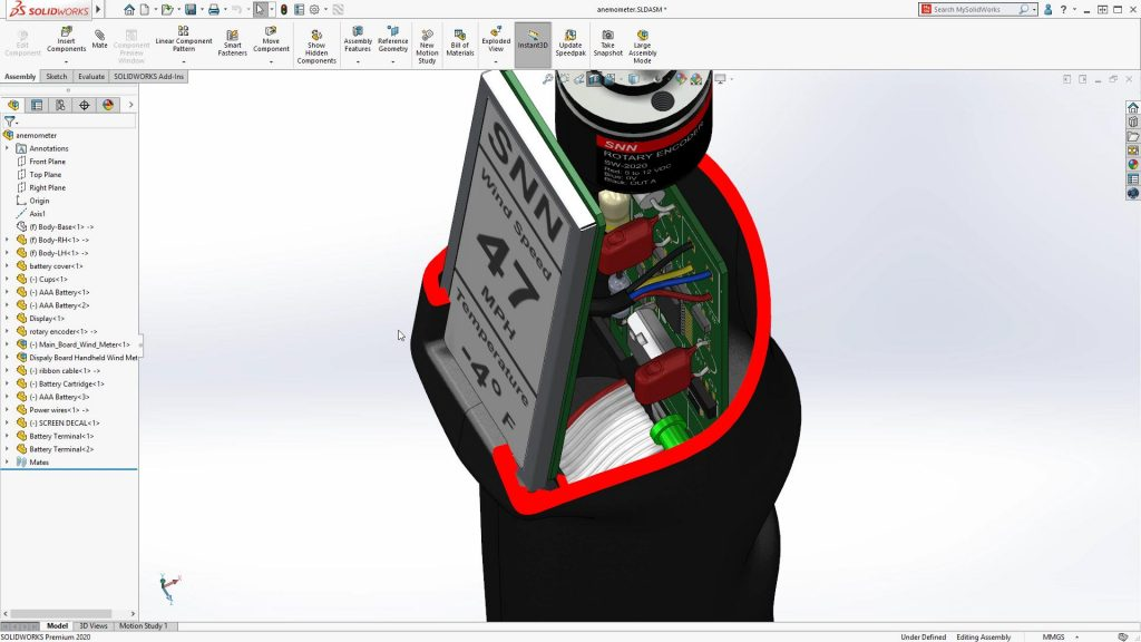 SOLIDWORKS-2020-section-view