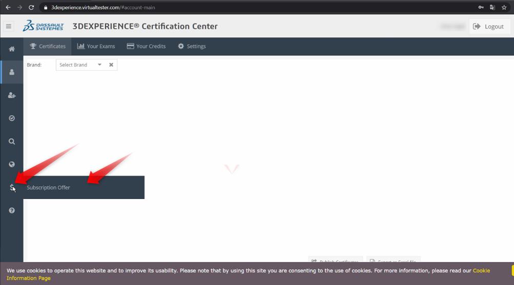 sertifikasyon sınav kodu giriş