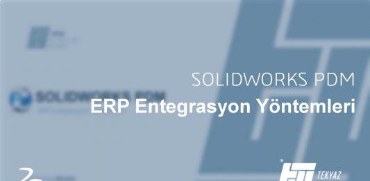 PDM ERP Entegrasyon Yöntemleri