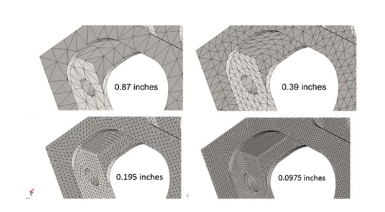 solidworks simulation mesh genel görüntü