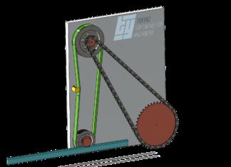 Zincir kayış montajı