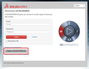 Create a SOLIDWORKS ID