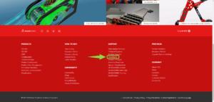 solidworks.com Downloads bölümü