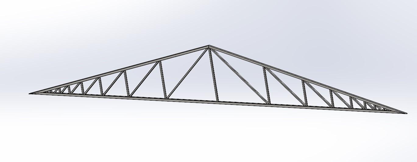 Çatı Kafes Yapı Modeli