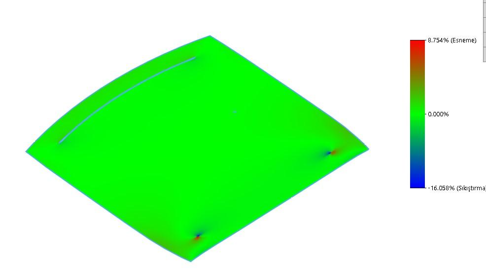 Yüksek Doğruluklu Yüzey Deformasyon Grafiği